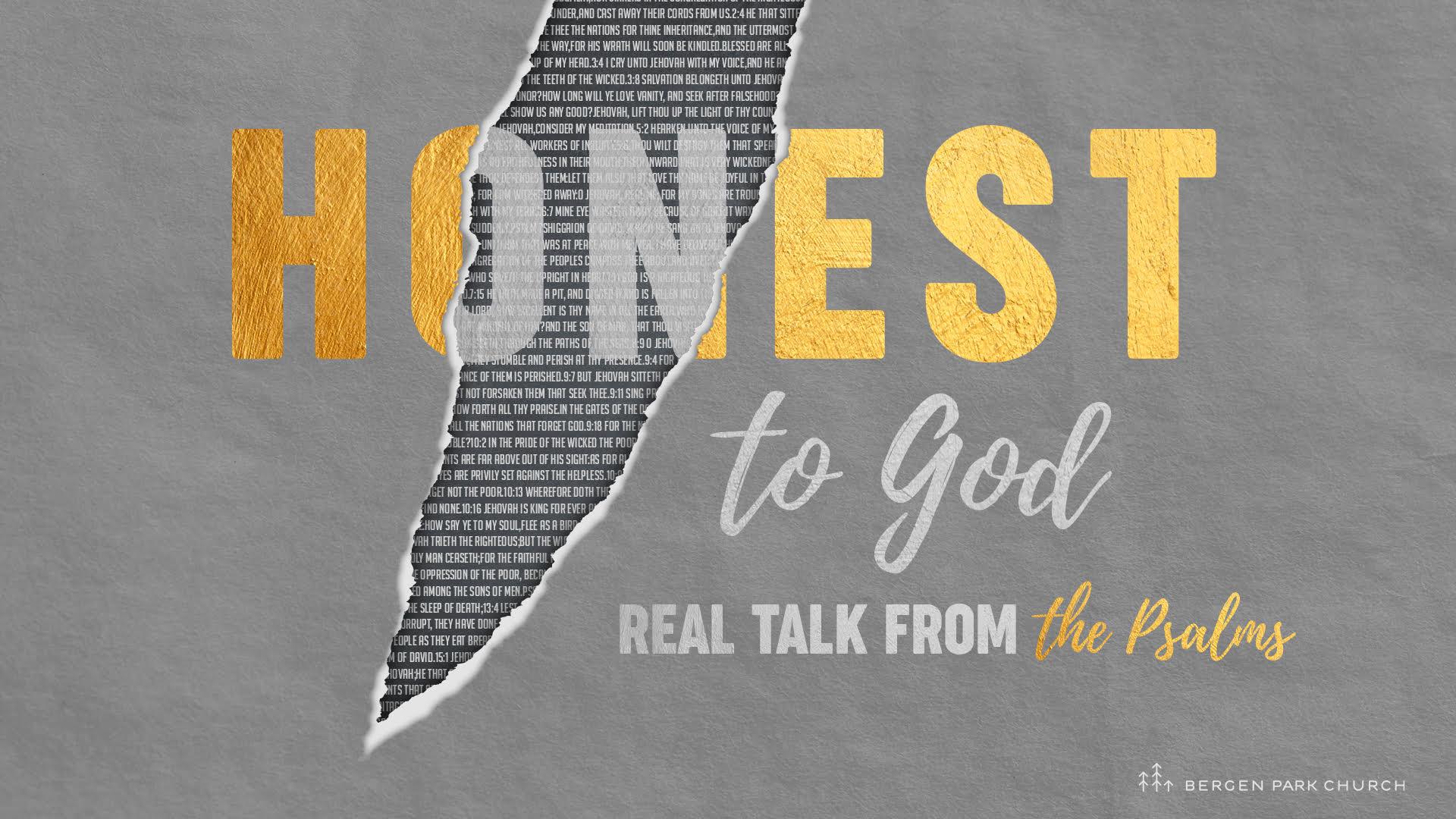 Honest to God: Prayer